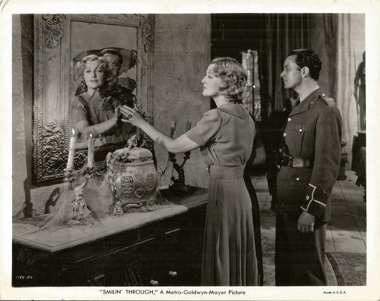 JEANETTE MacDONALD IS SMILIN THROUGH ORIGINAL VINTAGE MGM SCENE STILL