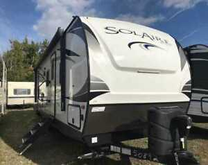 2019 Forest River Palomino Solaire 317BHSK 31 pieds