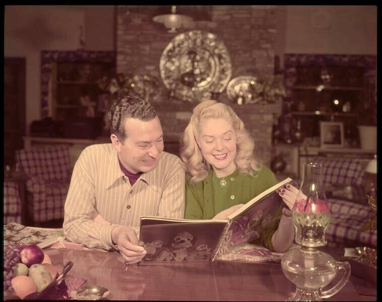 Alice Faye Phil Harris Vintage 1940