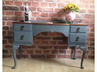 Vintage Shabby Chic Desk / Dressing Table / Corridor