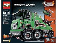 LEGO Technic 42008 service truck. New