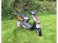 Yamaha Neos 50cc Moped Scooter Leaner Legal Bike