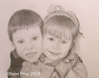 Portrait Artist Available Have your photo painted or sketched.