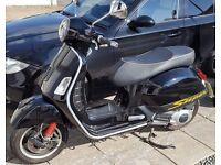 2010 Vespa GTS ie Super 125cc