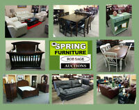 START OFF YOUR WEEK WITH A LIVE AUCTION!