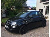 Fiat 500 (black 2010) £3,650 ONO