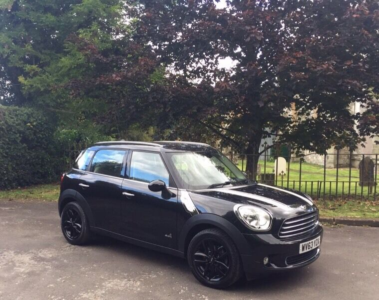 mini countryman 1 6 cooper d chilli pack full cream leather interior only 34k miles in. Black Bedroom Furniture Sets. Home Design Ideas