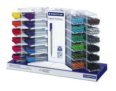 Staedtler Triplus Fineliner Pens 20 Colours Available, SINGLES OR PACKS OF 10