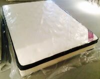 NEW Double Thick Euro-top Mattress Only $400!!!