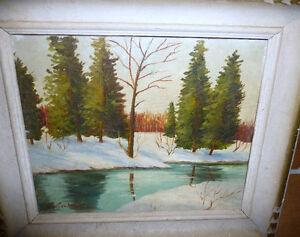 John McCutcheon (ROI) Untitled, Original Oil Painting Stratford Kitchener Area image 8