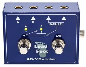 Guitar Pedal - Lead Foot AB/Y Switch Pedal