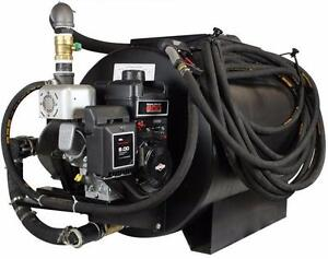 NEW 130 GALLON ASPHALT DRIVEWAY SEALING SPRAYER SPRAY UNIT Buy NEW for the price of used Parking lot sealcoating machine