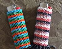 Hand beaded lighter cases