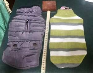Dog/Puppy  jacket  & jumper   35cm ($25 Both )