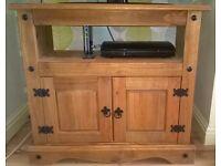 Antique pine Tv Stand