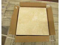 Johnson's Shale cream ceramic wall floor tiles 300/300mm