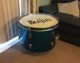Bespoke Beatles drum/coffee table