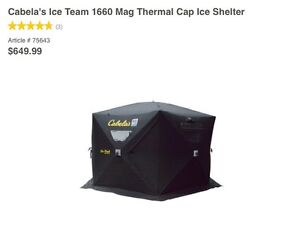 Ice fishing gear for sale
