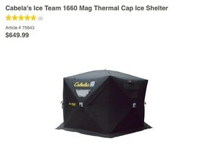 Good quality ice fishing gear for sale