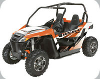 2015 ARCTIC CAT WILDCAT TRAIL 50' WIDE LTD WITH POWERSTEERING