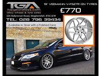 "19"" Veemann V-FS27R Alloy Wheels for a VW Audi Seat"