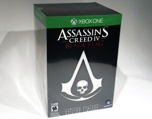 Assassin's Creed Black Flag LIMITED EDITION - Metal Box + Statue