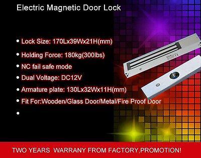 Glass Wooden Door Magnetic Electric Lock 12v