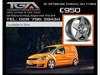 "19"" Fifteen52 Tarmac wheels on tyres for a Audi A4, VW Passat ETC"