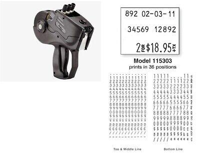 New Monarch 1153 Label Gun 1153-03 Pricing Gun Authorized Monarch Dealer
