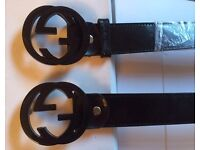 Designer men's belts bargain £15