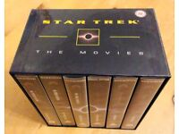 STAR TREK TOS AND TNG - 'THE MOVIES' - VHS VIDEO BOX SET