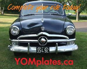 Vintage YOM License Plates - Ministry Approval Guaranteed! Peterborough Peterborough Area image 10