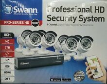 Swann 2TB SECURITY SYSTEM x8 cameras 1080p Full HD Melbourne CBD Melbourne City Preview