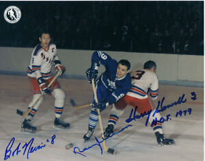 Nevin and Howell and Ullman action photo NHL Hockey game London Ontario image 1