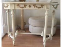 TABLE Console. Table. Lovely french style shabby chic. £95