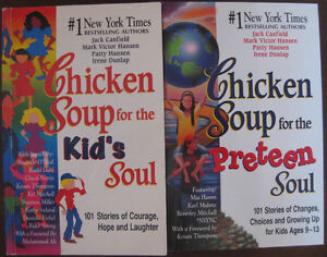 2 Chicken Soup Books for Kids