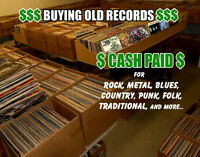 $ WANTED $ Old Records LPs, 45s and 78s