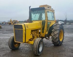 Massey 40B Industrial Tractor with cab