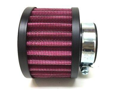 35mm Sport Racing Luftfilter Powerfilter f. Tuning Vergaser für 50ccm Roller