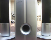 PIONEER Home Theater Speaker System...Sub + 2 Towers