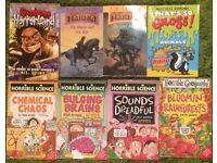 JOB LOT - Horrible science etc kids books