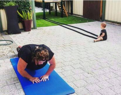 MOBILE PERSONAL TRAINING FOR BUSY MUMS