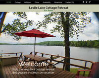 Beautiful 4 season, 15 bed lakefront cottage + hot tub