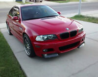 2003.5 E46 BMW M3 coupe – Only 60,000 kms