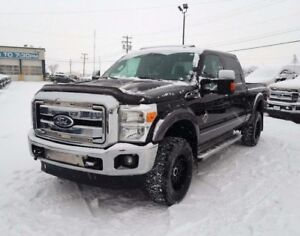 2012 Ford F-350 Super Duty Lariat  - Leather Seats