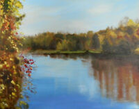 Original Art and Prints by Canadian Artist, Gina Lemelin...