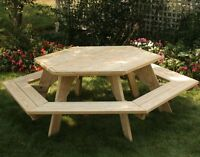 Looking for a round picnic table
