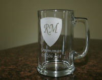 Custom Laser Etched Glassware