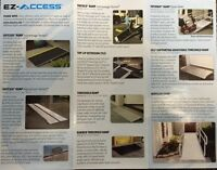 Wheelchair Access Ramps New and Used Available