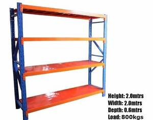 Shelving workshop garage warehouse racking 2.0m X 2.0m X 0.6m W.A Kelmscott Armadale Area Preview